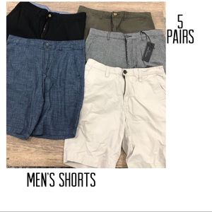 Other - Men's Shorts, Size 32, Five Pair